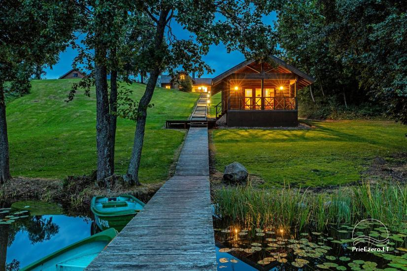 Holland Park in Moletai district – holiday cottages and houses on the lakeshore for families and friends - 35
