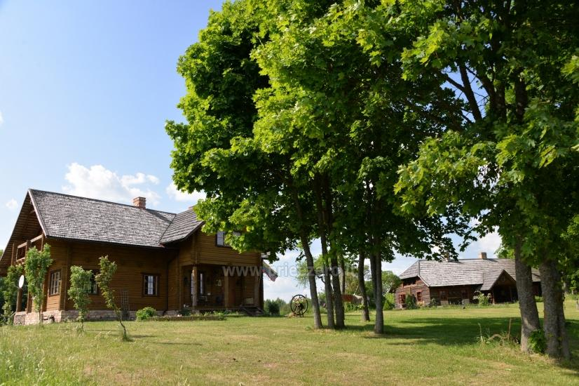 Countryside homestead in Moletai region at the lake Asveja Prie Melnyčios - 1