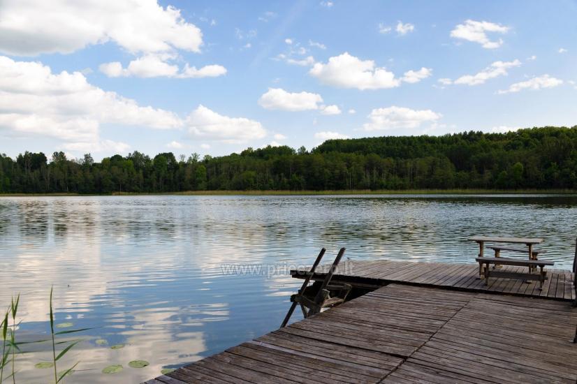 Countryside homestead in Moletai region at the lake Asveja Prie Melnyčios - 33