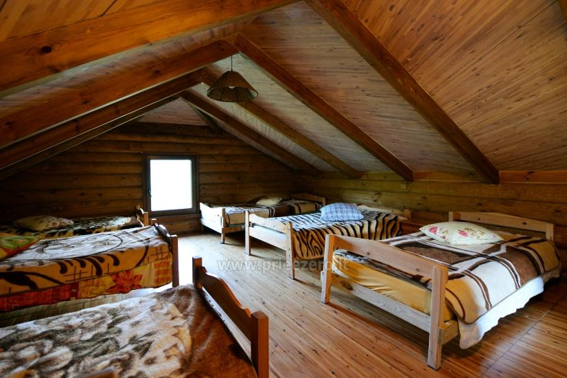 Countryside homestead in Moletai region at the lake Asveja Prie Melnyčios - 38