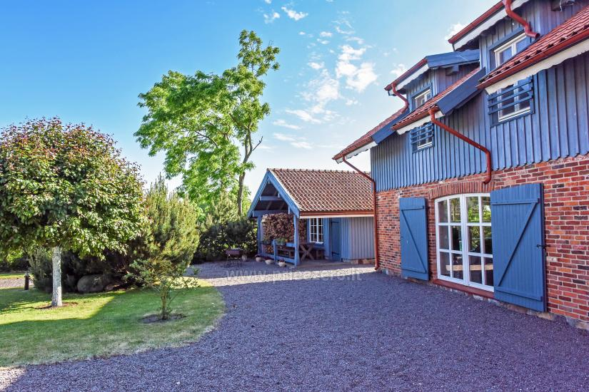 Holiday in Minge (Lithuanian Venice) Villa Minge for up to 12-14 persons: hall, sauna, bedrooms - 12