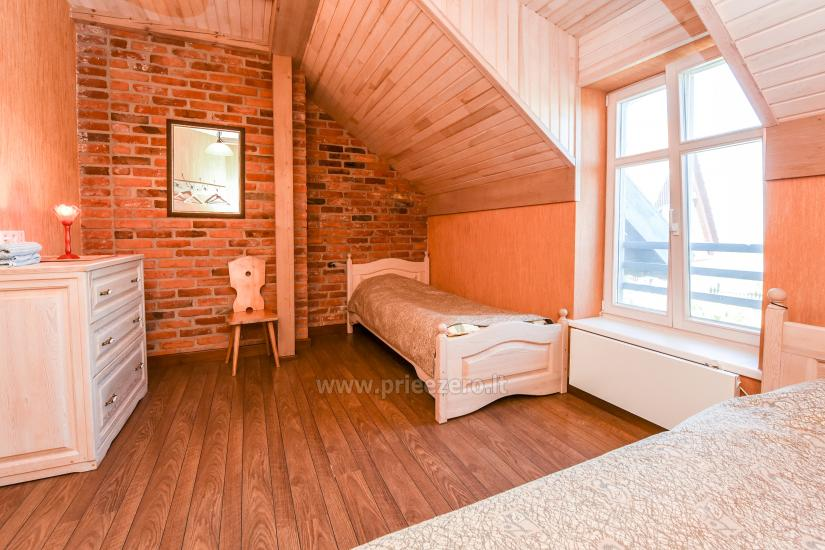 Holiday in Minge (Lithuanian Venice) Villa Minge for up to 12-14 persons: hall, sauna, bedrooms - 24