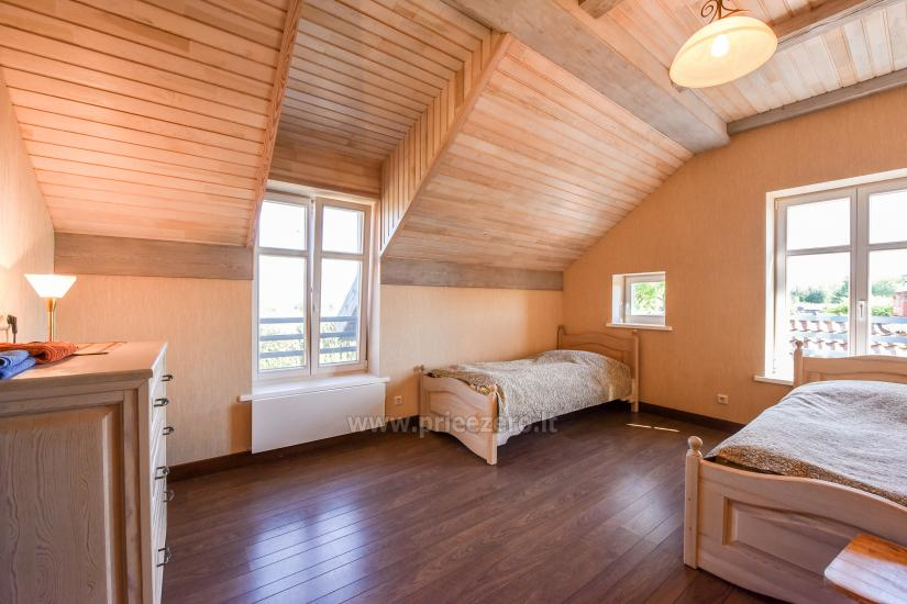 Holiday in Minge (Lithuanian Venice) Villa Minge for up to 12-14 persons: hall, sauna, bedrooms - 25
