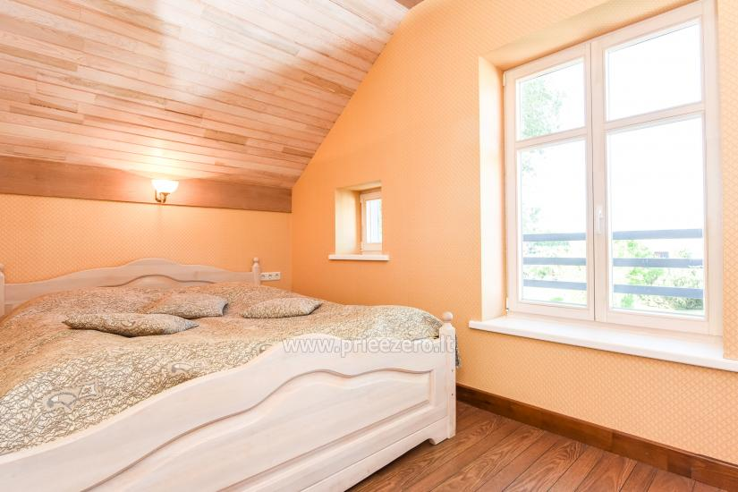 Holiday in Minge (Lithuanian Venice) Villa Minge for up to 12-14 persons: hall, sauna, bedrooms - 27