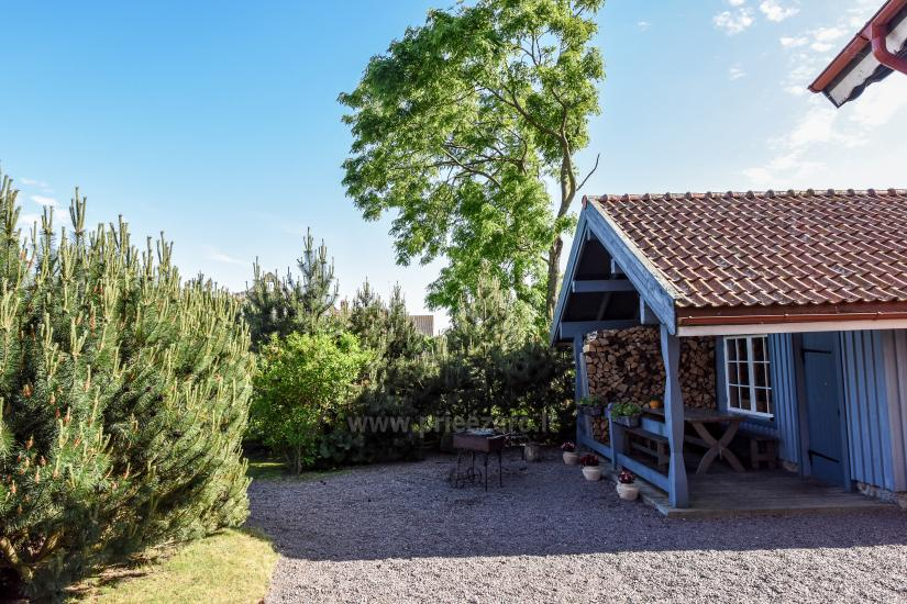 Holiday in Minge (Lithuanian Venice) Villa Minge for up to 12-14 persons: hall, sauna, bedrooms - 28