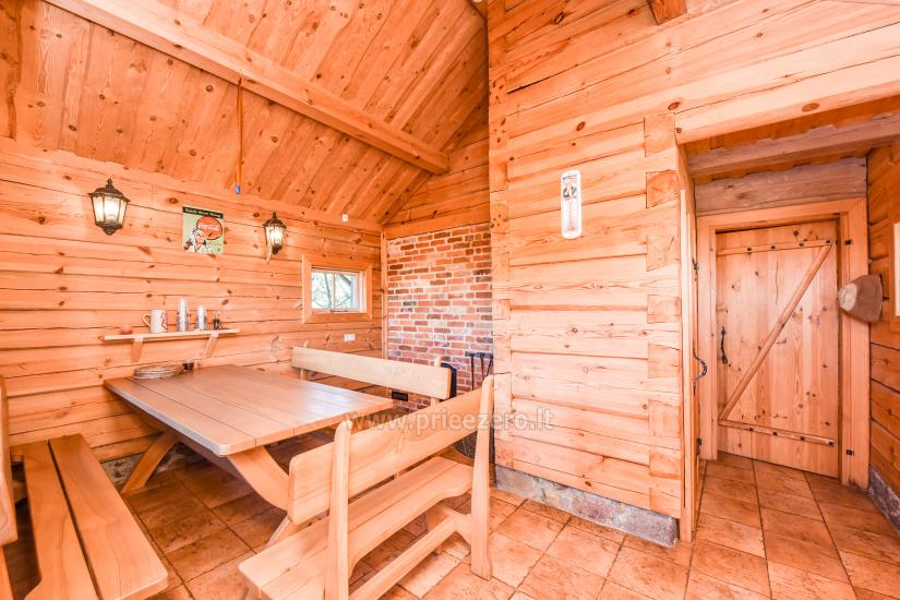 Holiday in Minge (Lithuanian Venice) Villa Minge for up to 12-14 persons: hall, sauna, bedrooms - 29
