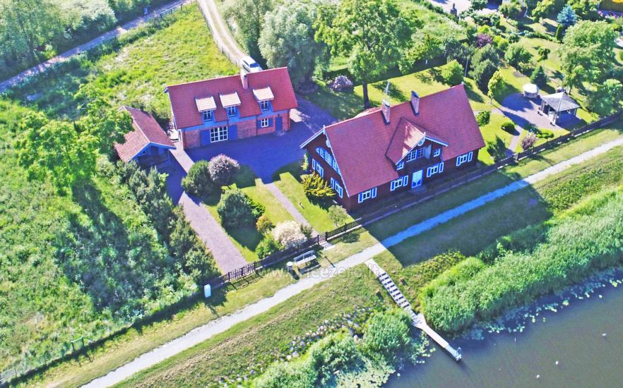 Holiday in Minge (Lithuanian Venice) Villa Minge for up to 12-14 persons: hall, sauna, bedrooms - 3