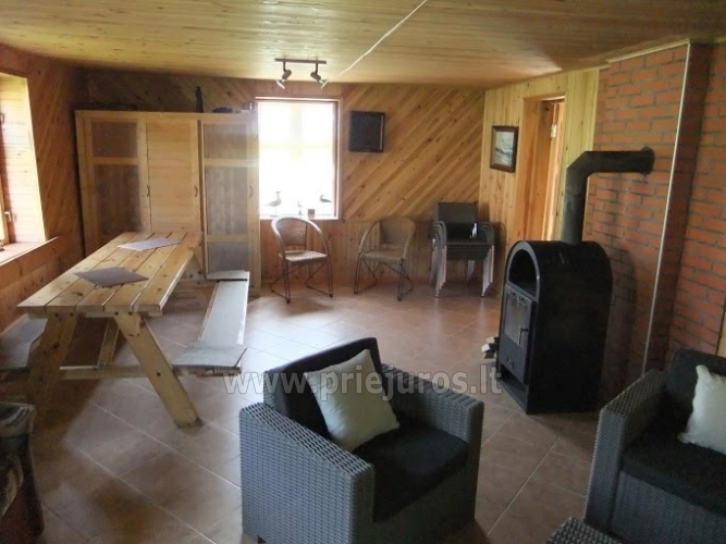House for rent near the Curonian lagoon between Vente and Kintai - 11
