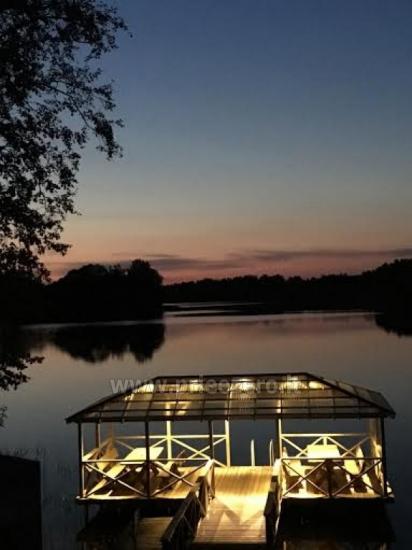 Вилла у озера, в Молетай области - 4