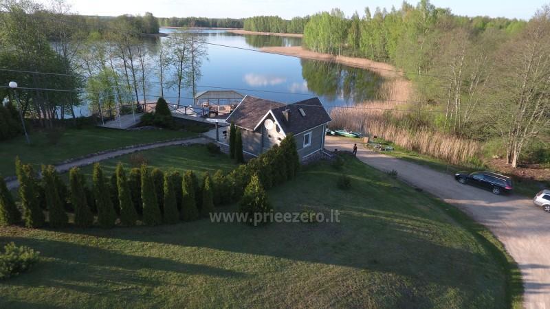 Вилла у озера, в Молетай области - 3