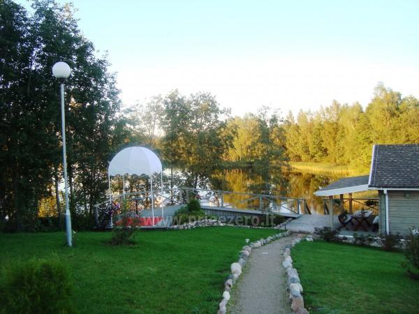 Вилла у озера, в Молетай области - 8