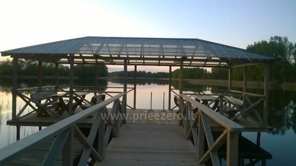 Вилла у озера, в Молетай области - 6