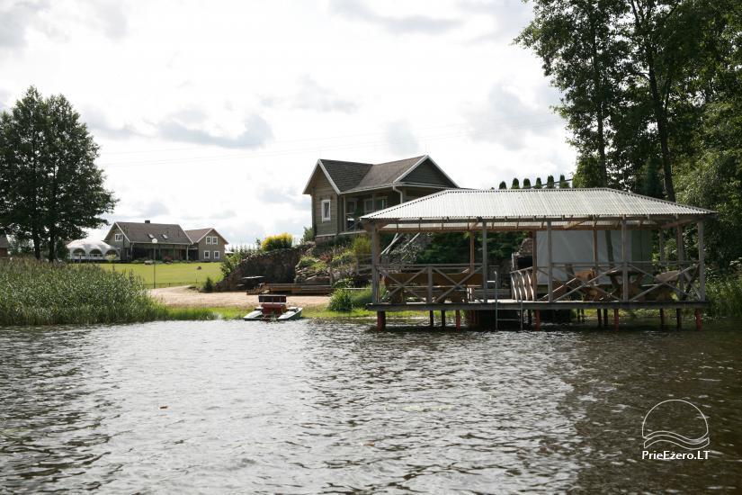 Вилла у озера, в Молетай области - 7