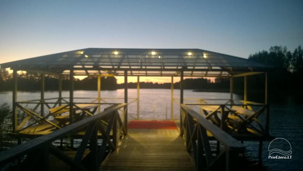 Вилла у озера, в Молетай области - 5