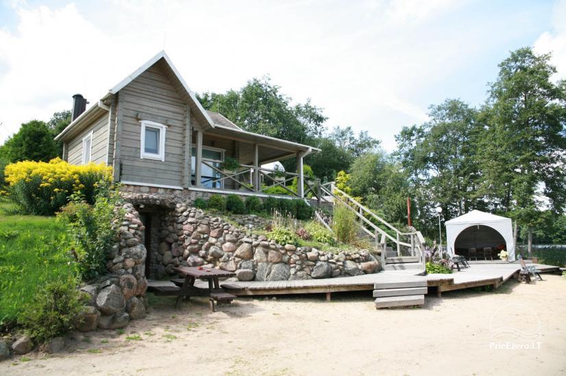 Вилла у озера, в Молетай области - 9