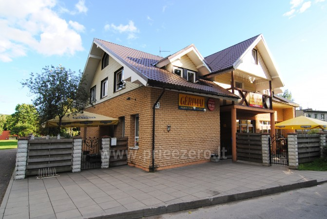 A cozy hotel with a sauna, swimming pool and banquet hall in Klaipeda district - 1