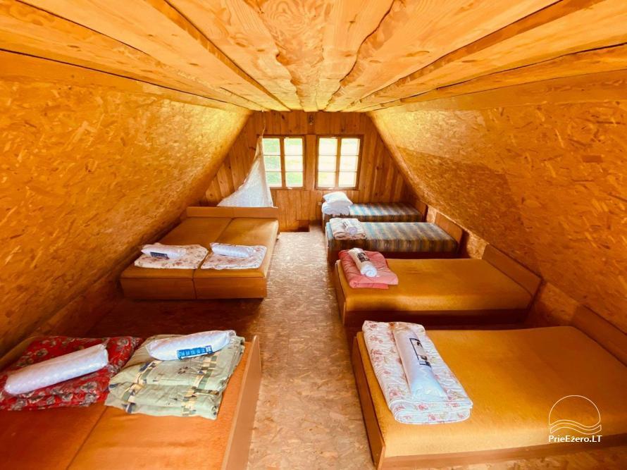 Homestead Dūminė pirtis with bathhouse for rent 50 km from Vilnius - 14