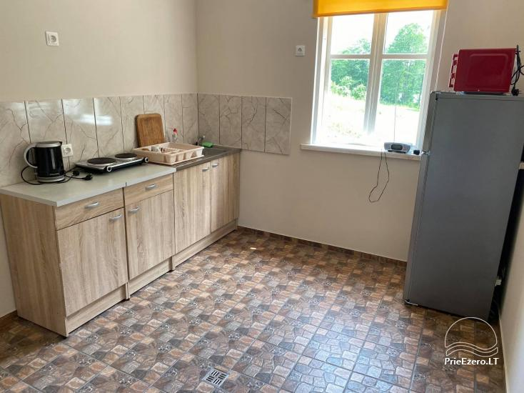 Homestead Dūminė pirtis with bathhouse for rent 50 km from Vilnius - 13