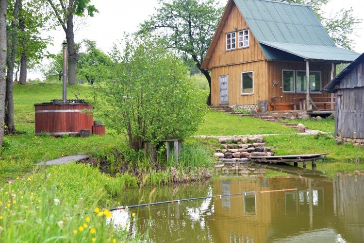 Усадьба Dūminė pirtis с баней в аренду в 50 км от Вильнюса - 3