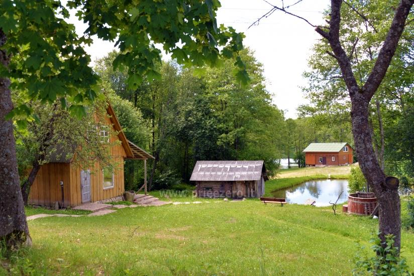 Homestead Dūminė pirtis with bathhouse for rent 50 km from Vilnius - 1