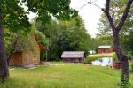 Gehöft  Dūminė pirtis mit Badehaus zu mieten 50 km von Vilnius