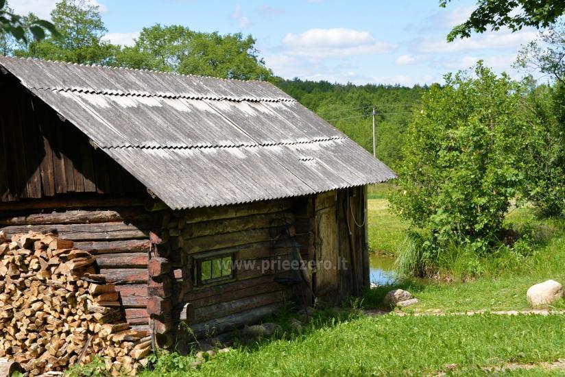 Усадьба Dūminė pirtis с баней в аренду в 50 км от Вильнюса - 9