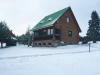 Holiday cottage in winter