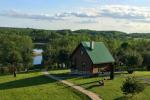 Сельский туризм в Литве, в Молетском районе на озере Lukstas