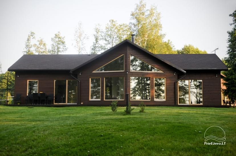 Ferienhäuser in Moletai Bezirk am See Spalio krantas - 1