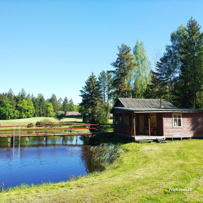 Banquet hall, sauna and holiday houses for rent in Plungė district in a homestead Stream of calmness - 15