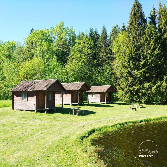 Banquet hall, sauna and holiday houses for rent in Plungė district in a homestead Stream of calmness - 13