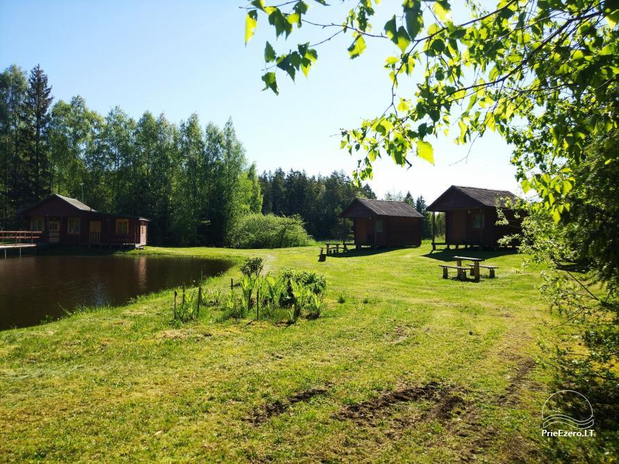 Banquet hall, sauna and holiday houses for rent in Plungė district in a homestead Stream of calmness - 16