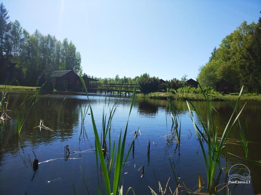 Banquet hall, sauna and holiday houses for rent in Plungė district in a homestead Stream of calmness - 1
