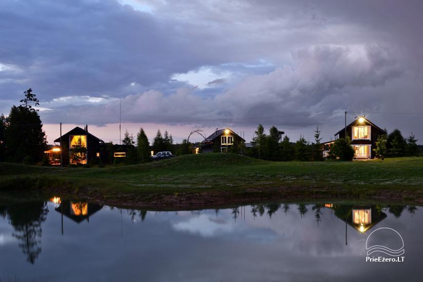 Homestead Kliukai in Moletai district – family holiday cottages - 20