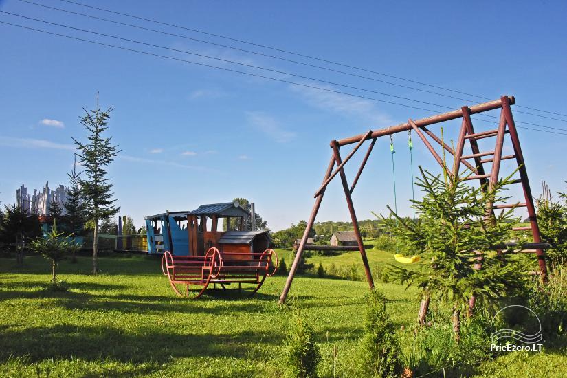 Homestead Kliukai in Moletai district – family holiday cottages - 17