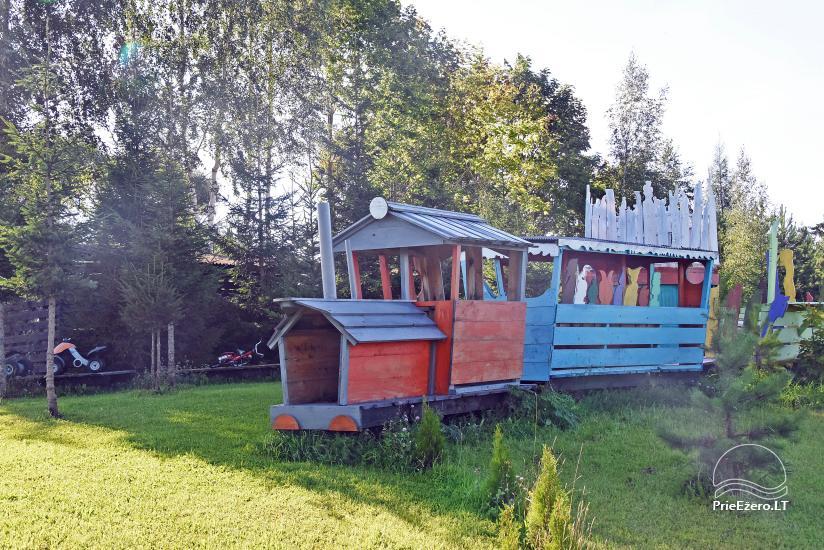 Homestead Kliukai in Moletai district – family holiday cottages - 19