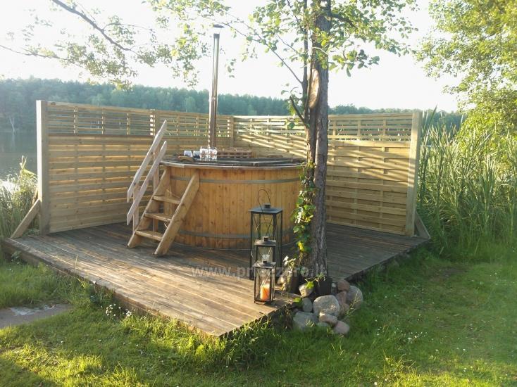 """Villa """"Ilgio"""" on the lake shore - bathhouse with hot tub, holiday cottage - 3"""
