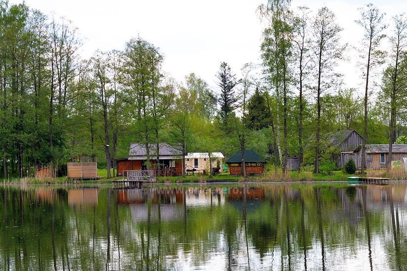 """Villa """"Ilgio"""" on the lake shore - bathhouse with hot tub, holiday cottage - 2"""