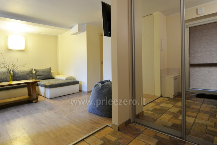 Apartment No. 2 (40 sqm.) with a separate entrance