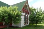 Частный деревянный дом для семьи в Друскининкай - 2