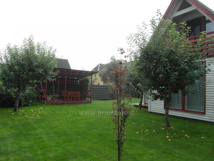 Частный деревянный дом для семьи в Друскининкай - 6
