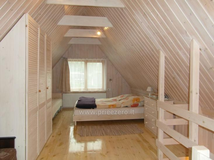 Private wooden house for family in  Druskininkai - 14