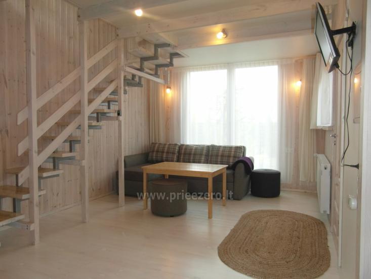 Частный деревянный дом для семьи в Друскининкай - 1