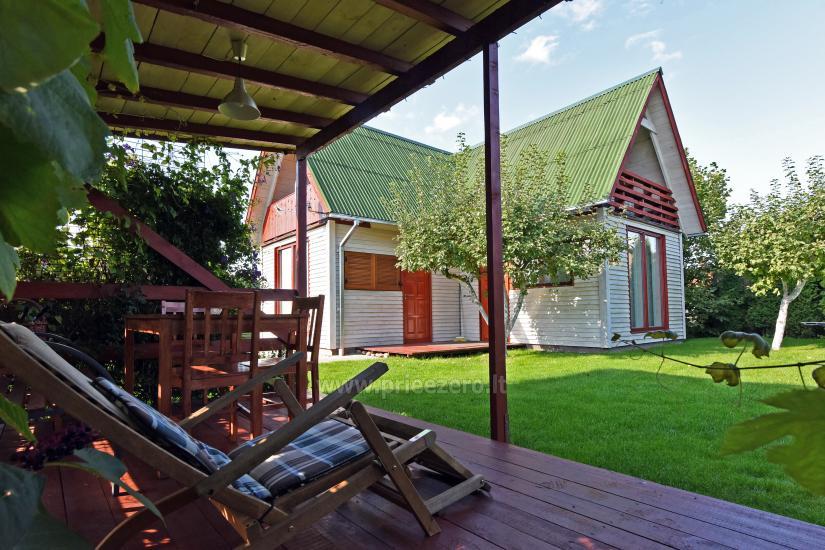 Частный деревянный дом для семьи в Друскининкай - 4
