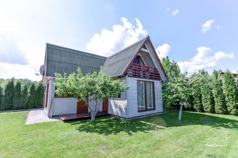 Private wooden house for family in  Druskininkai - 21