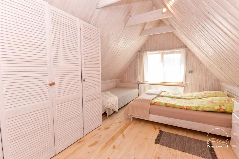Private wooden house for family in  Druskininkai - 29