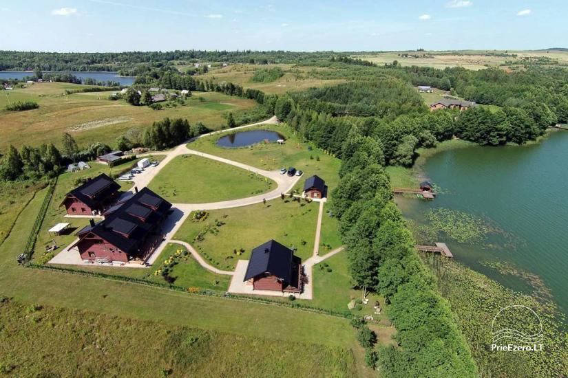 Homestead o nthe shore of the lake Vila Viesai – villas, holiday cottages with saunas in Trakai district - 3