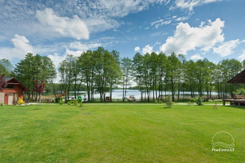 Homestead o nthe shore of the lake Vila Viesai – villas, holiday cottages with saunas in Trakai district - 7