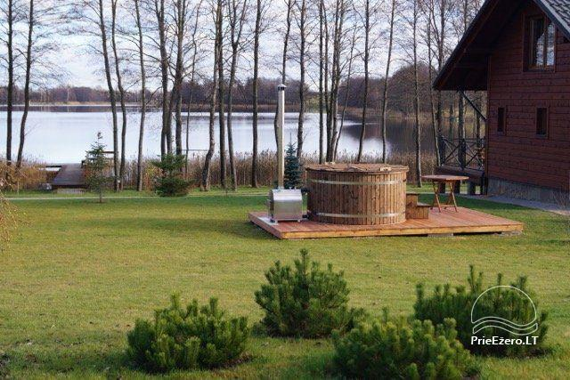 Homestead on the shore of the lake Vila Viesai – villas, holiday cottages with saunas in Trakai district - 58