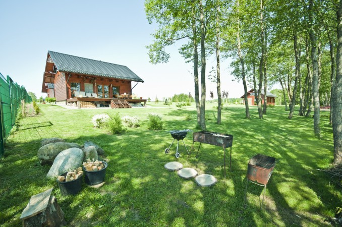 Homestead o nthe shore of the lake Vila Viesai – villas, holiday cottages with saunas in Trakai district - 9